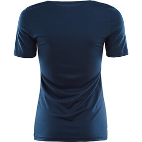 Aclima LightWool T-paita Naiset, insignia blue